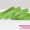 ริบบิ้นผ้า กรอสเกรน สีเขียว ขนาด กว้าง 6 mm. #548