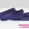 ริบบิ้นผ้า กรอสเกรน สีน้ำเงิน ขนาด กว้าง 6 mm.