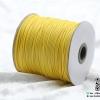 เชือกคอตตอนเกาหลี ขนาด 1-2 mm. สีเหลือง