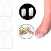 ปลอกซิลิโคนสวมนิ้วโป้งเท้าปลายปิด (x3คู่)