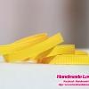 ริบบิ้นผ้าสีเหลือง #617