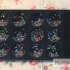 หมุดติดเล็บ กลม 2 มิล ชุดคละสี กล่องดำ