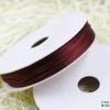 เชือกหางหนู สีเลือดหมู [102] ขนาด 2 มิล [อย่างดี เนื้อนุ่ม]