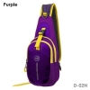กระเป๋าสะพายข้าง-คาดหน้าอก D02N สีม่วง