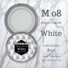 เจลต่อเล็บ Memory nail รหัส M08 ขนาด 10ml สีขาว White
