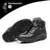 รองเท้าหนัง DELTA ข้อสั้น (สีดำ) เบอร์ EUR 40 เทียบ US 7 (250 มม.)