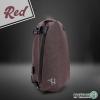 กระเป๋าสะพายกันน้ำ Arctic Hunter (สีแดง)