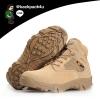 รองเท้าหนัง DELTA ข้อสั้น (สีทราย) เบอร์ EUR 40 เทียบ US 7 (250 มม.)