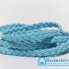 เชือกพีวีซี PVC ถัก สีฟ้า