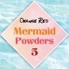 ผงเกร็ดนางเงือก Mermaid Powder #5 Orange Red สีเหลือบเส้มแดง