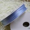 เชือกหางหนู สีฟ้า [11] ขนาด 2 มิล [อย่างดี เนื้อนุ่ม]