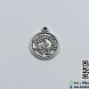 จี้โลหะ สีนิเกิล รูปราศีกุมภ์ (Aquarius Zodiac)