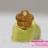 จี้โลหะ ป้าย handmade สีทอง