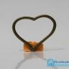 จี้วินเทจ โลหะ สีทองรมดำ รูปห่วงรูปหัวใจ