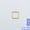 จี้โลหะ สไตล์มินิมอล ( minimal style ) รูปสี่เหลี่ยม สีทอง