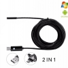 กล้องงู usb-android 2IN1-5.5MM-10M (5.5mm) 10m