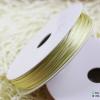 เชือกหางหนู สีเหลืองครีม [2] ขนาด 2 มิล [อย่างดี เนื้อนุ่ม]