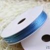 เชือกหางหนู สีฟ้า [12] ขนาด 2 มิล [อย่างดี เนื้อนุ่ม]