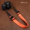 สายคล้องกล้องปรับสายสั้นยาวได้ Cam-in รุ่น Ninja สีส้ม 38 mm