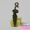 จี้โลหะ,ตัวห้อยซิป รูปร่ม สีทองรมดำร่ม
