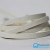 เชือกหนังชามุด ผิวมัน สีขาว ขนาด 5 mm.