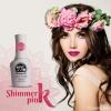 สีเจลทาเล็บ Memory nail รหัส 011 Shimmer Pink สีชมพูบานเย็น