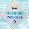ผงเกร็ดนางเงือก Mermaid Powder #2 Blue สีเหลือบฟ้าน้ำเงิน