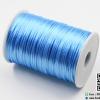 เชือกหางหนู ขนาด 2 มิล สีฟ้า ม้วน 100 หลา