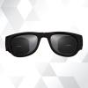 folding sunglasses + ขายางรัด สีดำล้วน