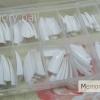 ทริปPVC ปลายขาว แบบกล่อง