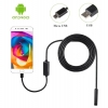 กล้องงู usb-android 2IN1-7MM-5M-BLACK (7mm) 5m