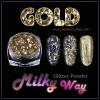 Gold Milky Way glitter powder ผงเกร็ดทางช้างเผือก สีทอง