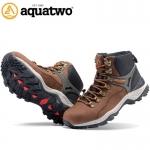 รองเท้าหุ้มข้อ AQUATWO(อะควาทู) รุ่น937 Waterflow สีน้ำตาลเข้ม Dark Brown