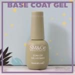 Base coat gel สีเจลทาเล็บ สำหรับรองพื้น SM&Ge