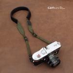 สายคล้องกล้องลดแรงกดคอ ไม่ปวดคอ ไม่ปวดไหล่ สีเขียวขี้ม้า