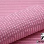 ผ้าสักหลาด พิมพ์ลายเส้น สีชมพูอ่อน