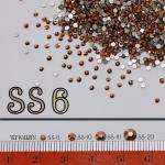 เพชรชวาAA สีทองแดง ขนาดSS6 ซองใหญ่ 1440เม็ด