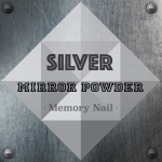 ผงกระจก Mirror Powder สีเงิน