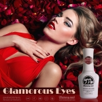 สีเจลทาเล็บ Memory nail รหัส 004 Glamorous eyes สีแดงมะเหมี่ยวอมชมพูผสมมมุขเล็กน้อย