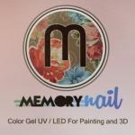 สีเจล สำหรับเพ้นท์เล็บ เพ้นท์นูนพิเศษ 12แม่สีหลัก สีเข้มข้น ชัดเจน Memory nail Color Gel UV / LED For Painting and 3D