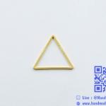 จี้โลหะ สไตล์มินิมอล ( minimal style ) รูปสามเหลี่ยม [เล็ก] สีทอง