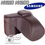 เคสกล้องหนัง Samsung NX210 NX200 (Pre Order)
