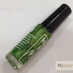 กากเพชร สำหรับลากเส้น สีเขียว
