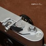 Soft Shutter Release Button รุ่น 10 mm ลายเท่ห์ๆโชกุน สีขาว ใช้กับ Fuji XT20 XT10 XT2 XE2 X20 X100 XE1 Leica ฯลฯ