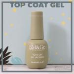 Top coat gel สีเจลทาเล็บ สำหรับเคลือบใส SM&Ge