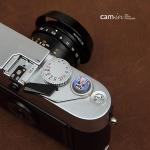 ปุ่มกด Soft Shutter Release Button รุ่น 11 mm ลาย Samurai ฟ้า Fuji XT20 XT10 XT2 XE2 X20 X100 XE1 Leica ฯลฯ