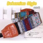 สายคล้องกล้อง Bohemian Style ลายโบฮิเมี่ยน (แบบ B)