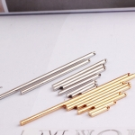 จี้โลหะ สไตล์มินิมอล ( minimal style ) แท่งทรงกลม สีทอง