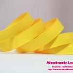 ริบบิ้นผ้าสีเหลือง