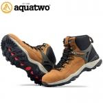 รองเท้าหุ้มข้อ AQUATWO(อะควาทู) รุ่น937 Waterflow สีน้ำตาลอ่อน